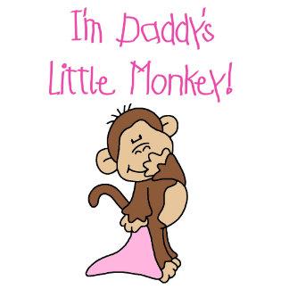 Daddy's Little Monkey - Pink