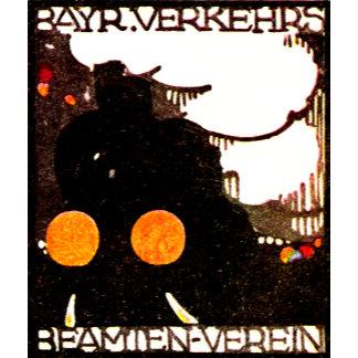 Vintage Railroad Prints, Designs, Posters