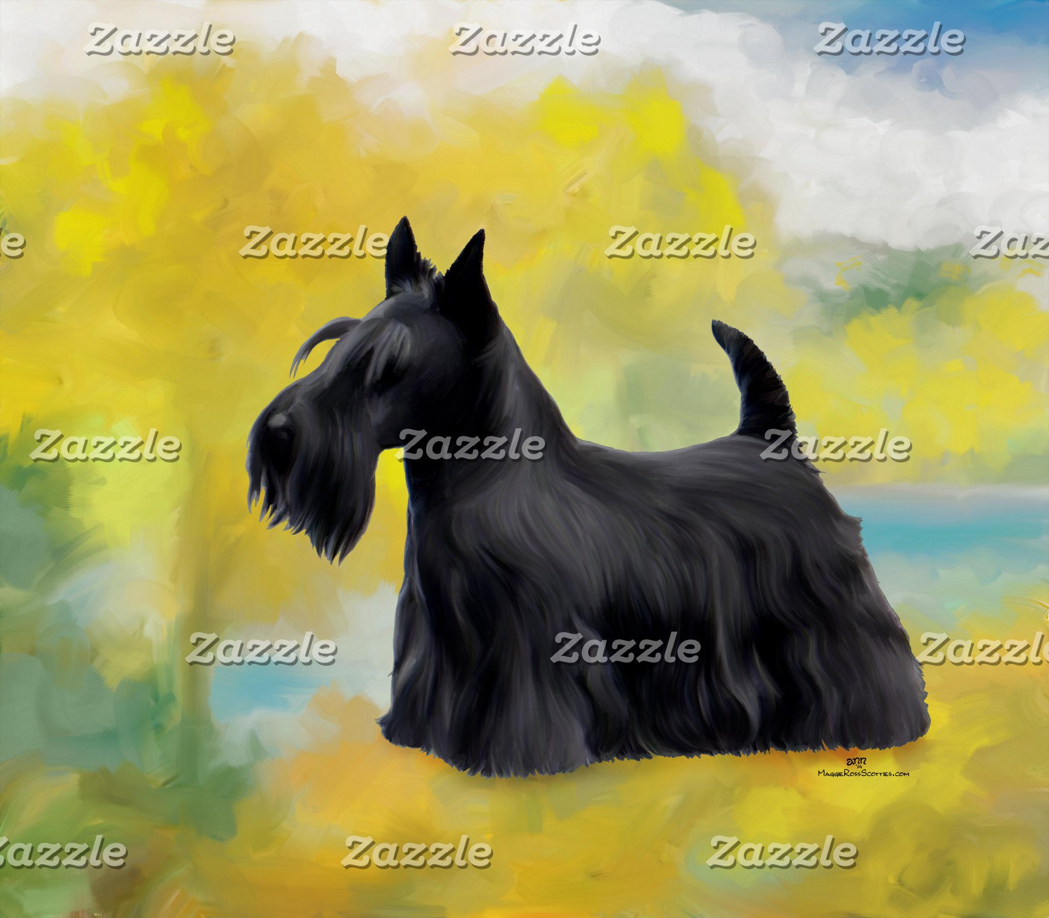 12 Scottish Terriers