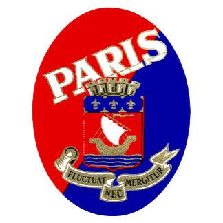 1925 Paris Luggage Label
