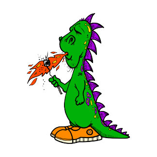 Camper Marshmallow Dragon