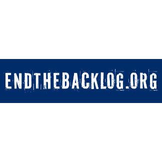 Endthebacklog.org Products