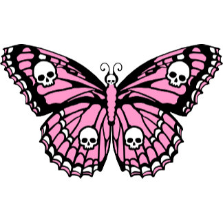 Evil Pink Butterfly
