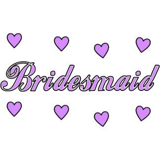 Wedding Hearts Bridesmaids