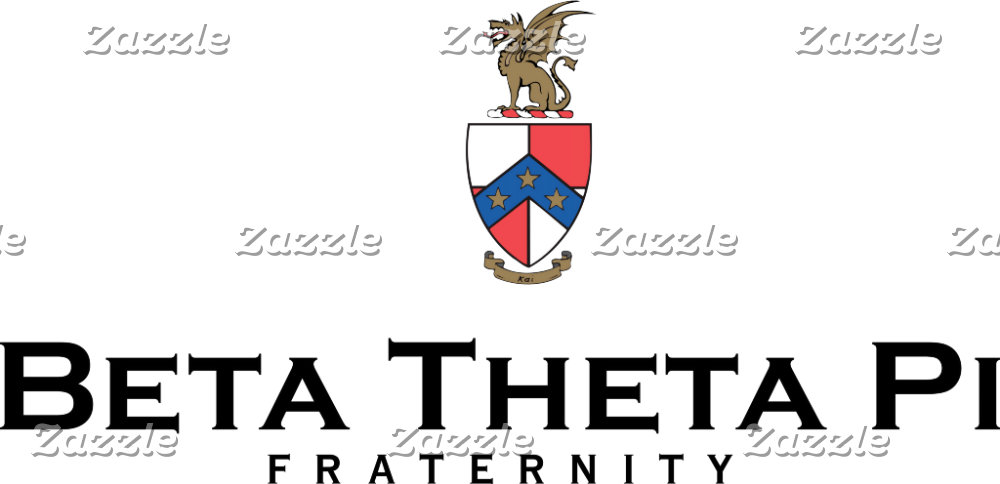 Beta Theta Pi with Crest - Color