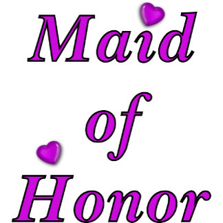Simply Love Maid Of Honor