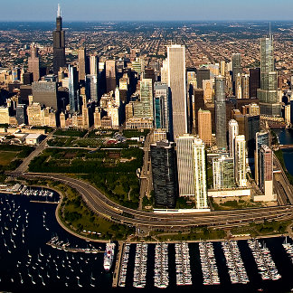Chicago Skyline & Lakefront