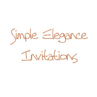Simple Elegance Invitations