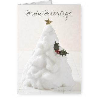 Weihnachtskarten auf Deutsch
