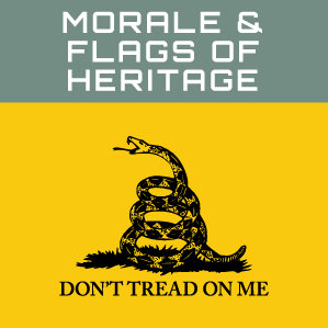 Morale & Flags of Heritage