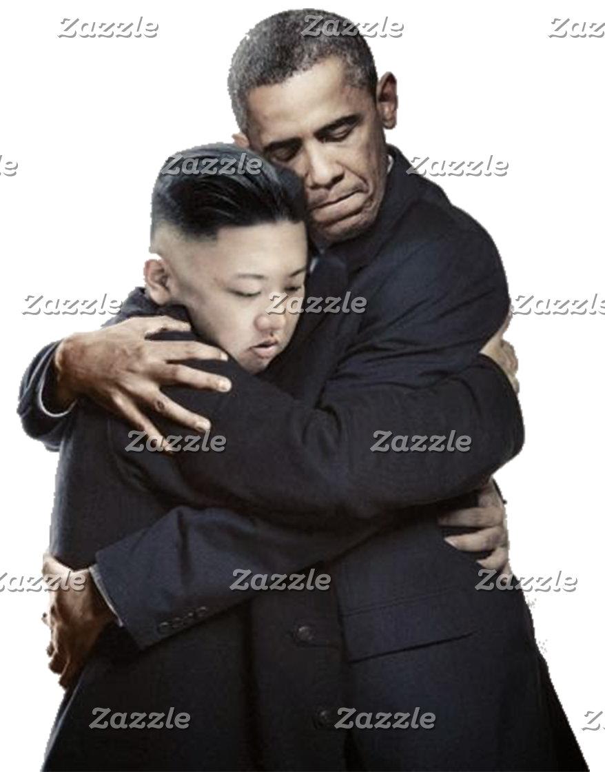 Obama & Kim Jong-un Products