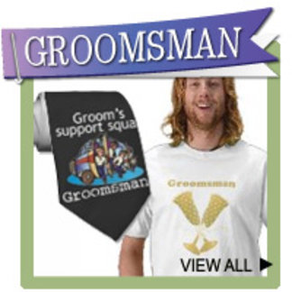 Groomsmen T-shirts, Ties, Personalized Gifts