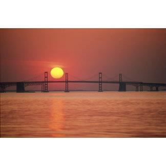 Chesapeake Bay Bridge, Maryland.
