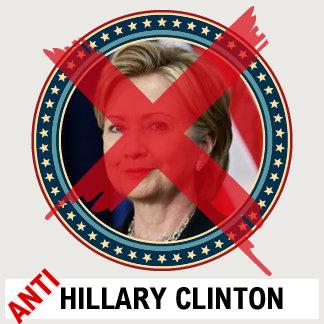 Anti Hillary Clinton