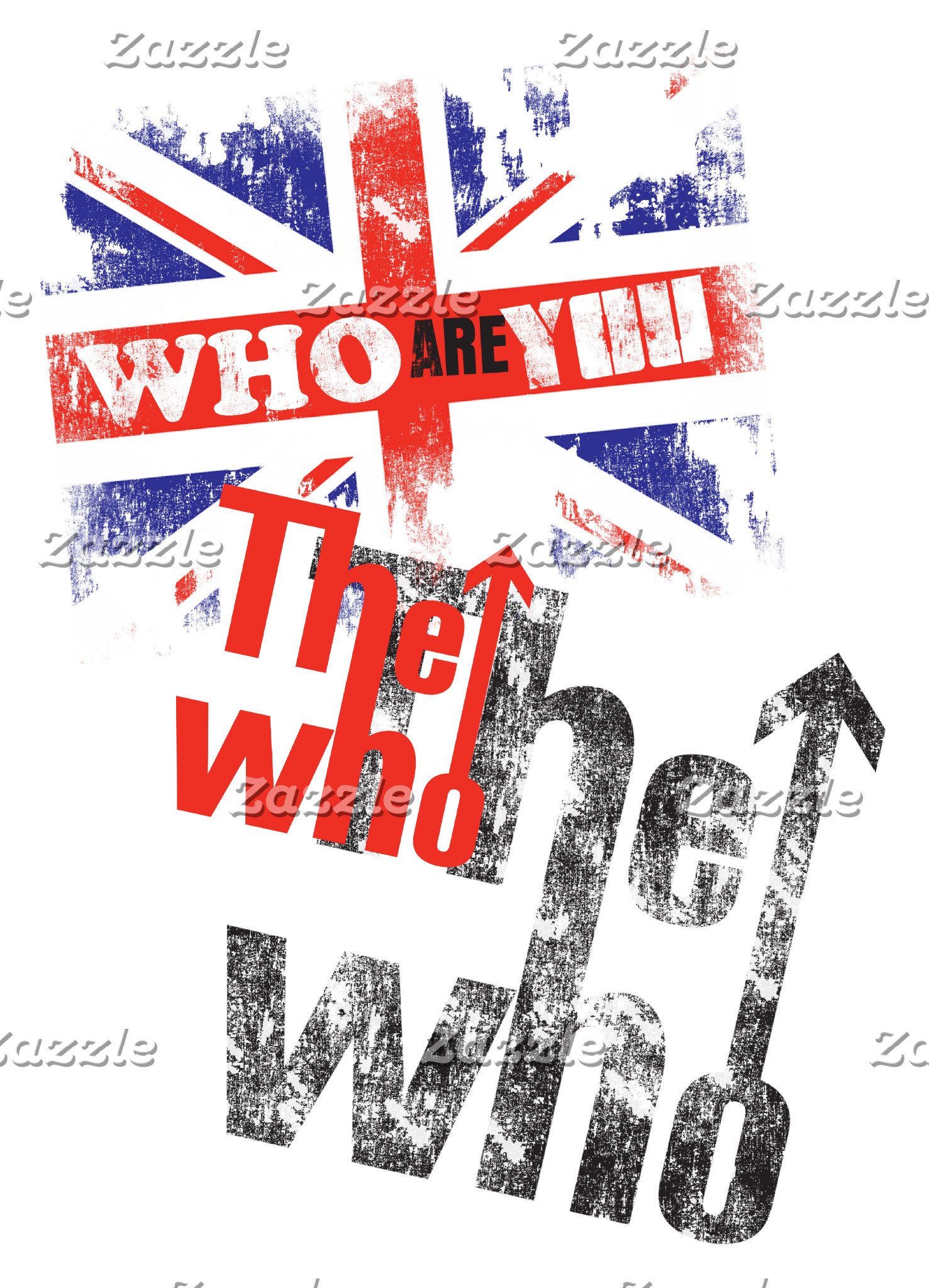 The Who Overlapping Logo