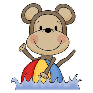 Beach Monkey - Swimming