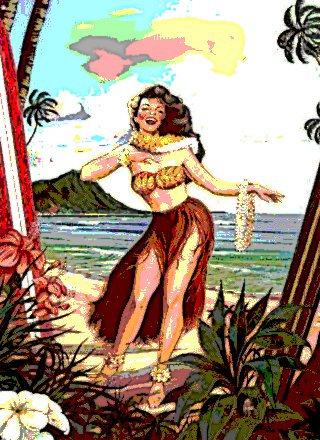 Hawaiian and Beach