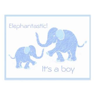 Baby Elephant Line
