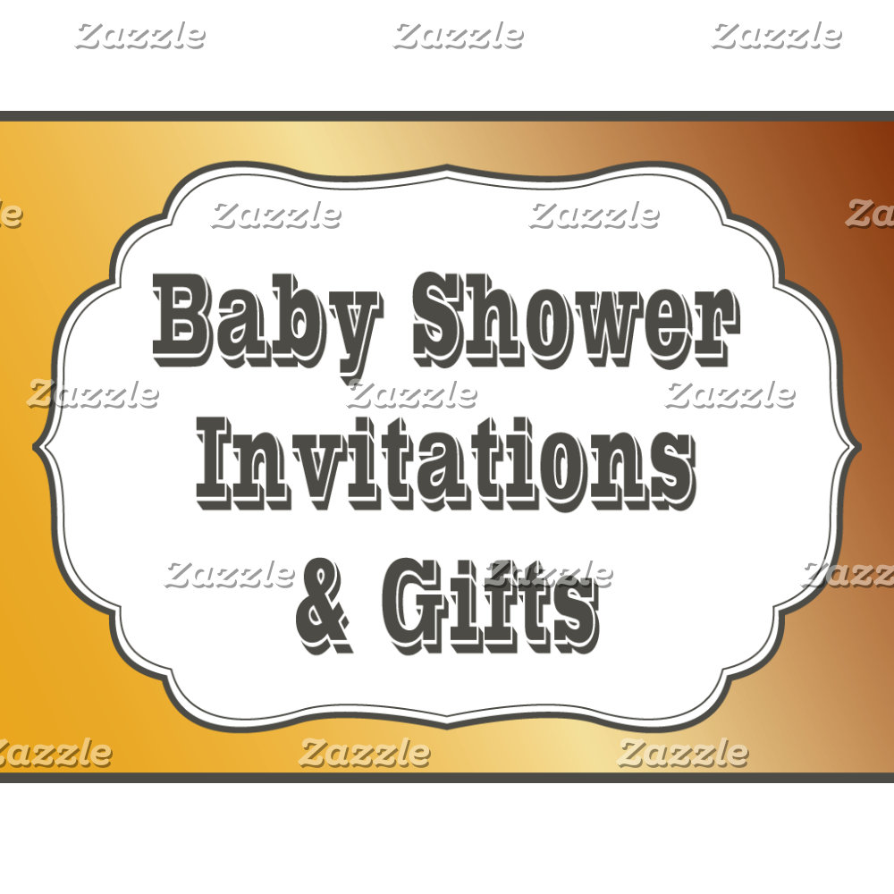 Baby Shower Invitations & Items
