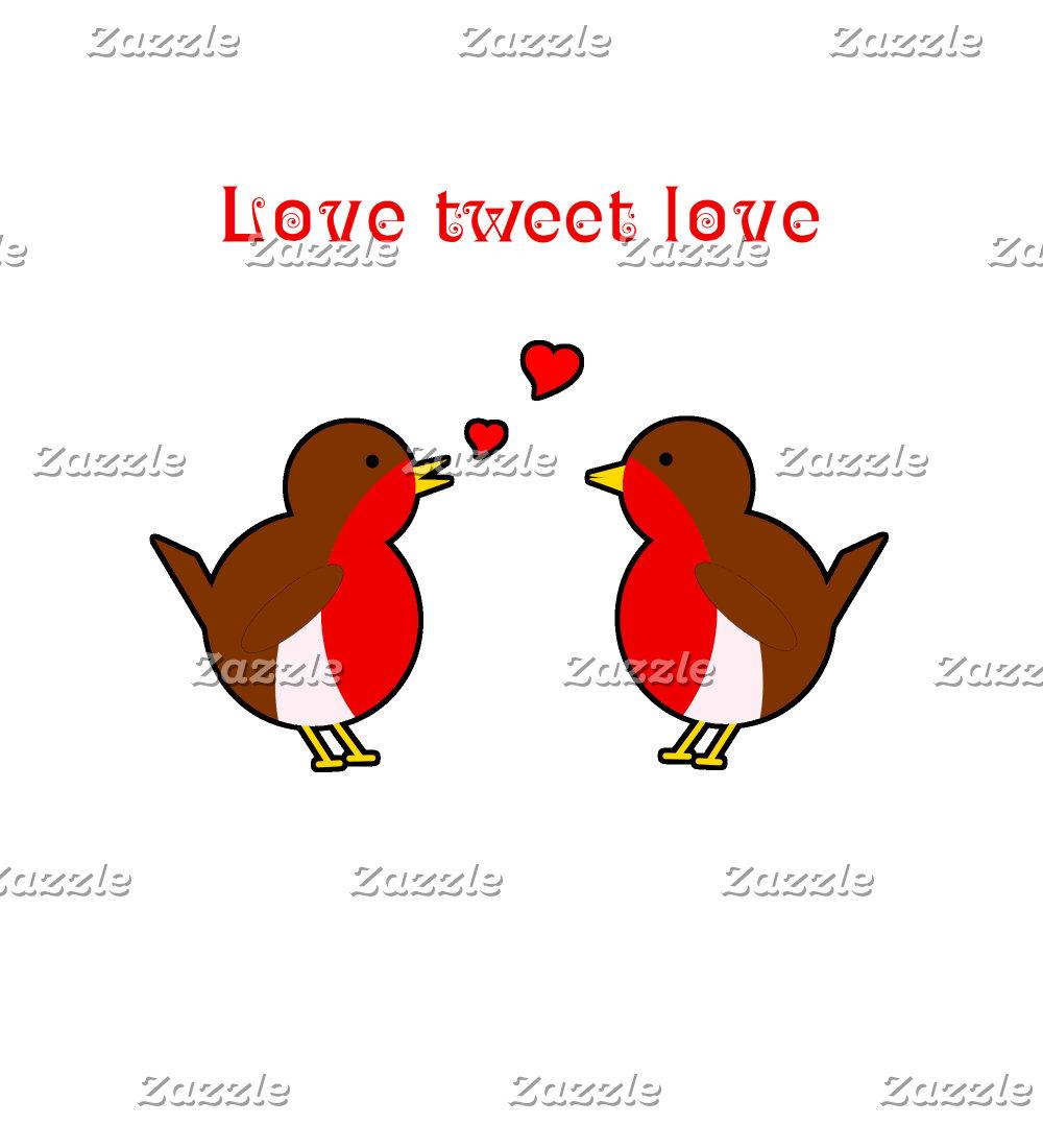 Robins tweet love