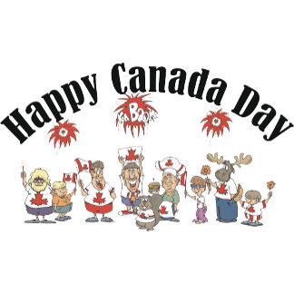 Happy Canada Day T Shirts