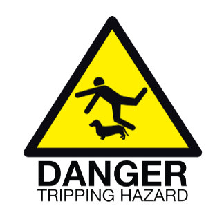 Danger: Tripping Hazard