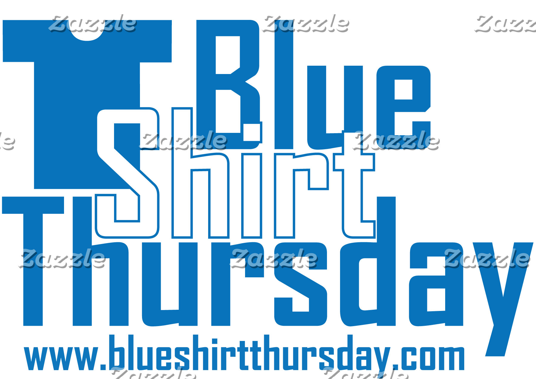 Blue Shirt Thursday