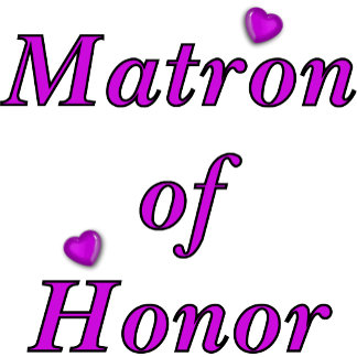 Simply Love Matron of Honor