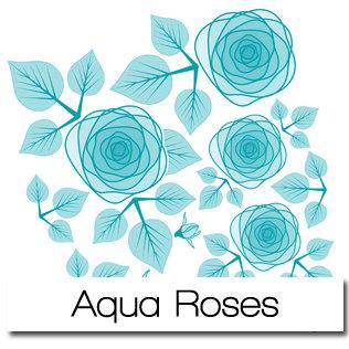 Aqua Roses