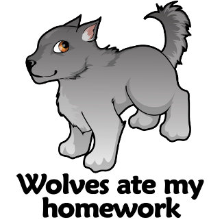 Wolves ate my homework