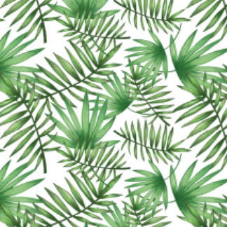 Jungle Palm Leaf Pattern