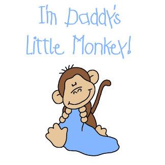 Daddy's Little Monkey - Blue