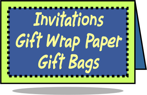 Invitations, Gift Wrap & Bags