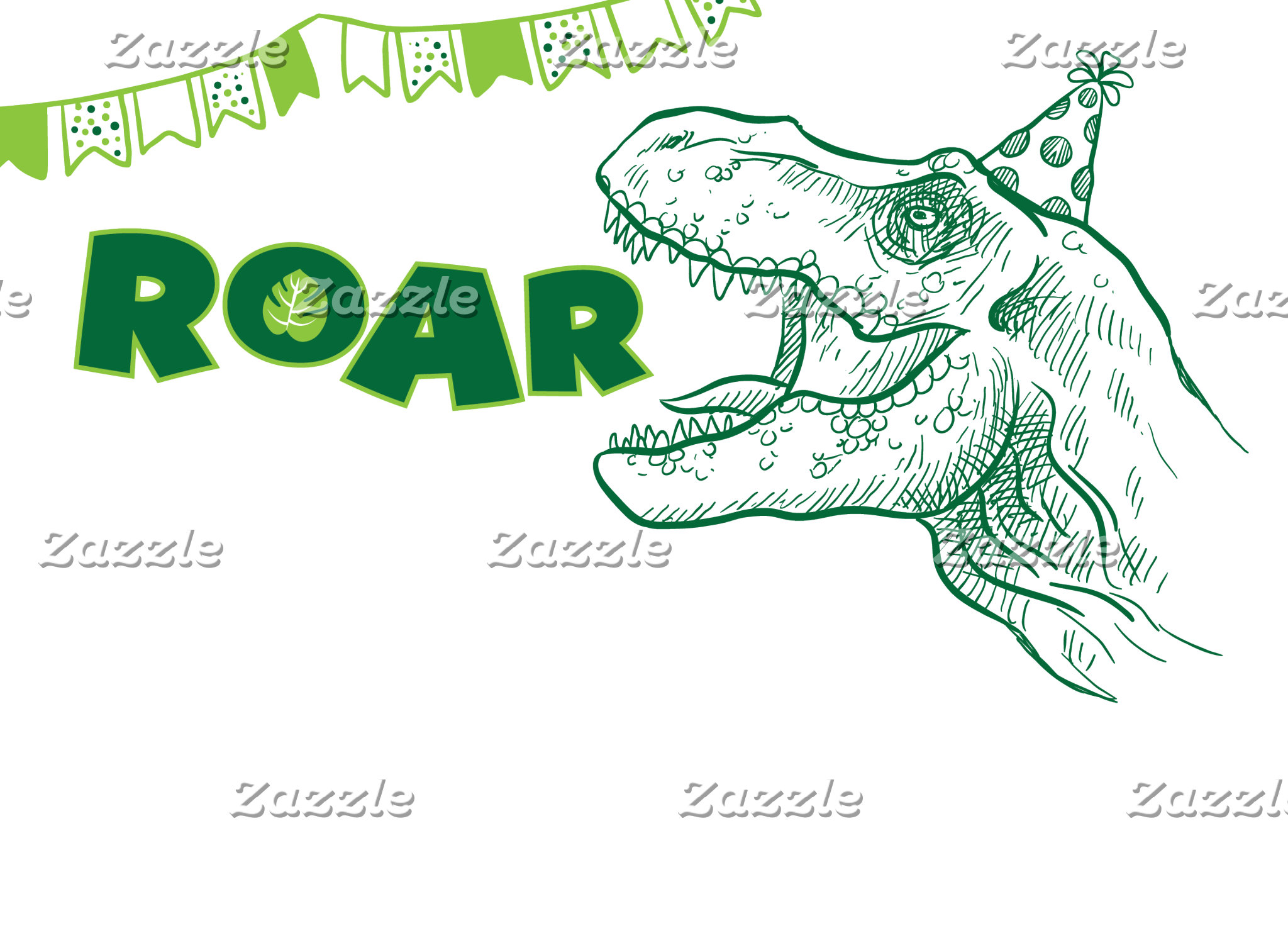 Dinosaur Roar Birthday