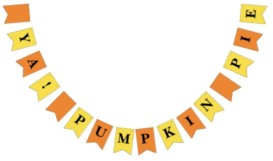 Party Bunting, Thanksgiving, Christmas