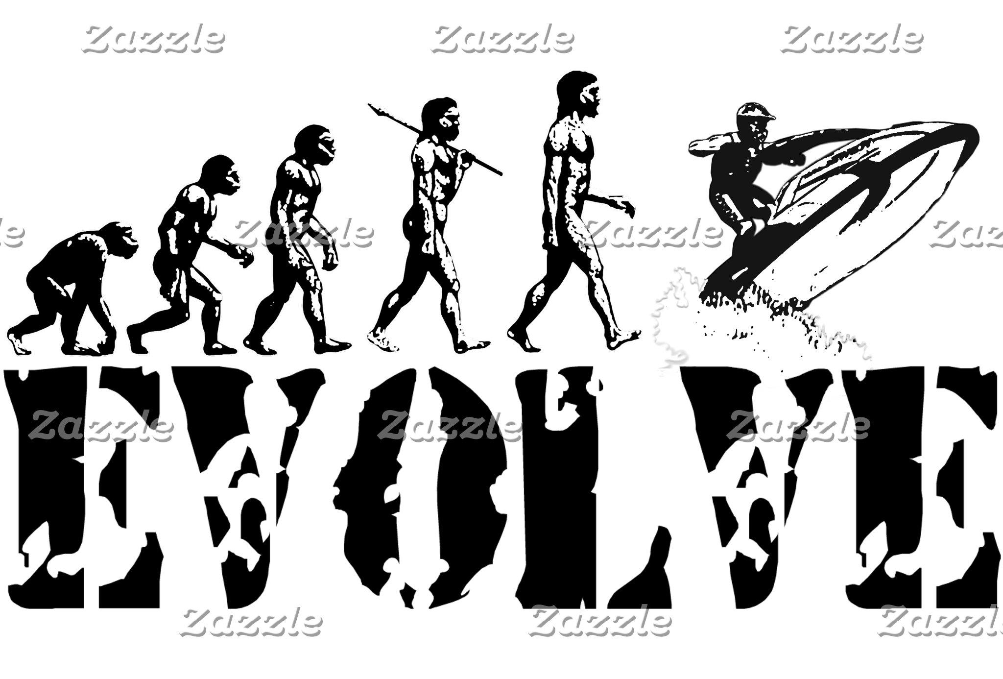 Evolution 1 ~ of Man Sports Hobbies Jobs