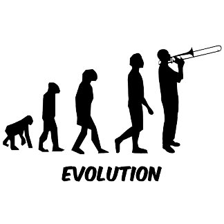 evolution trombone player