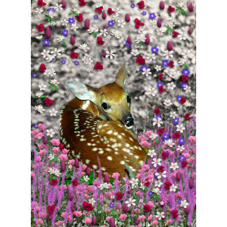 Bambina the Fawn in Flowers II