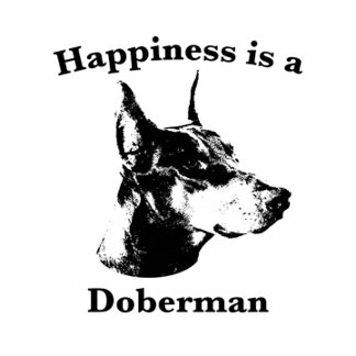 Happiness is a Doberman