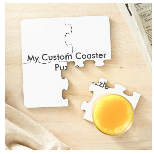 Custom Puzzle Coasters
