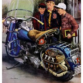 Tex's Motorcycle