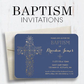 Baptism/Christening Invitations