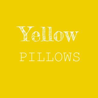 Yellow & Gold Pillows