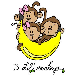 3 Li'l Monkeys