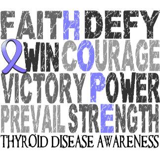 Hope Word Collage Thyroid Disease