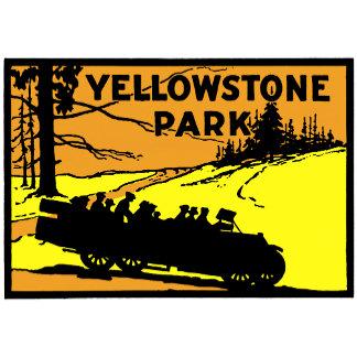 1920 Yellowstone Park