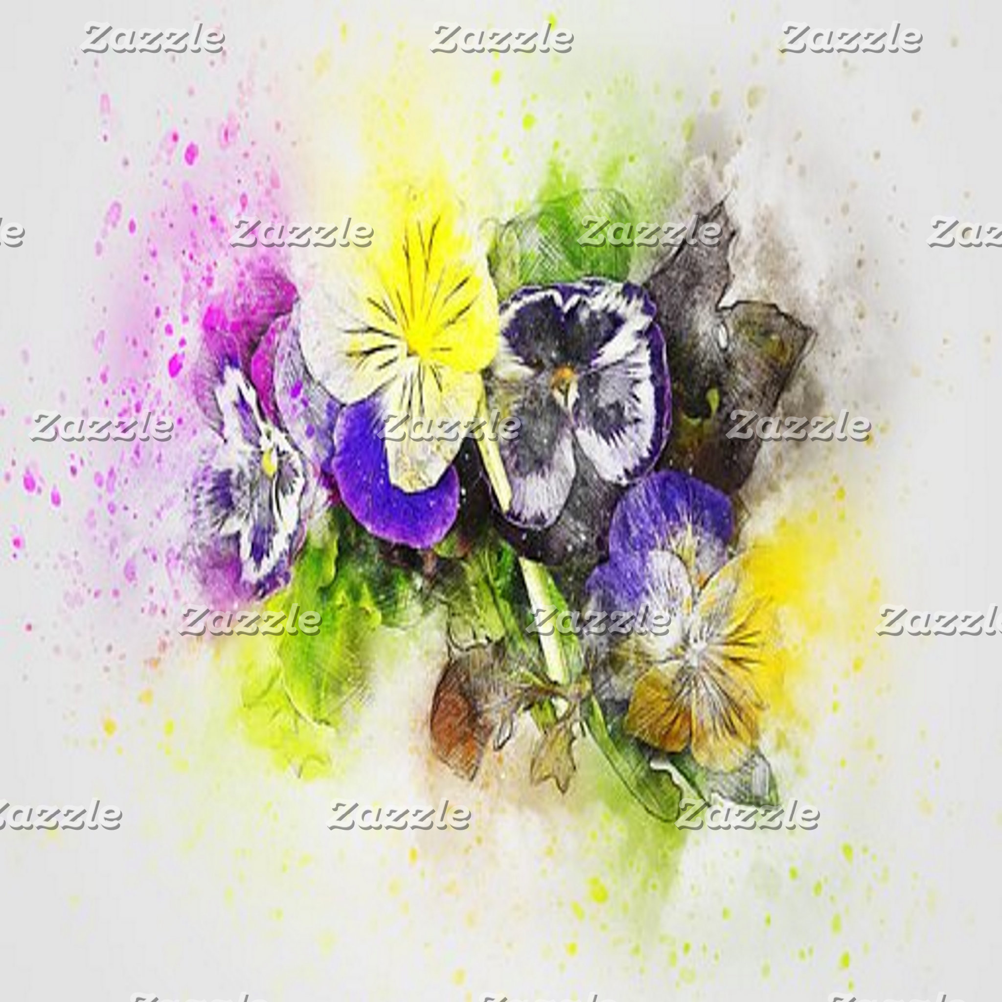 Abstract Art - Flowers