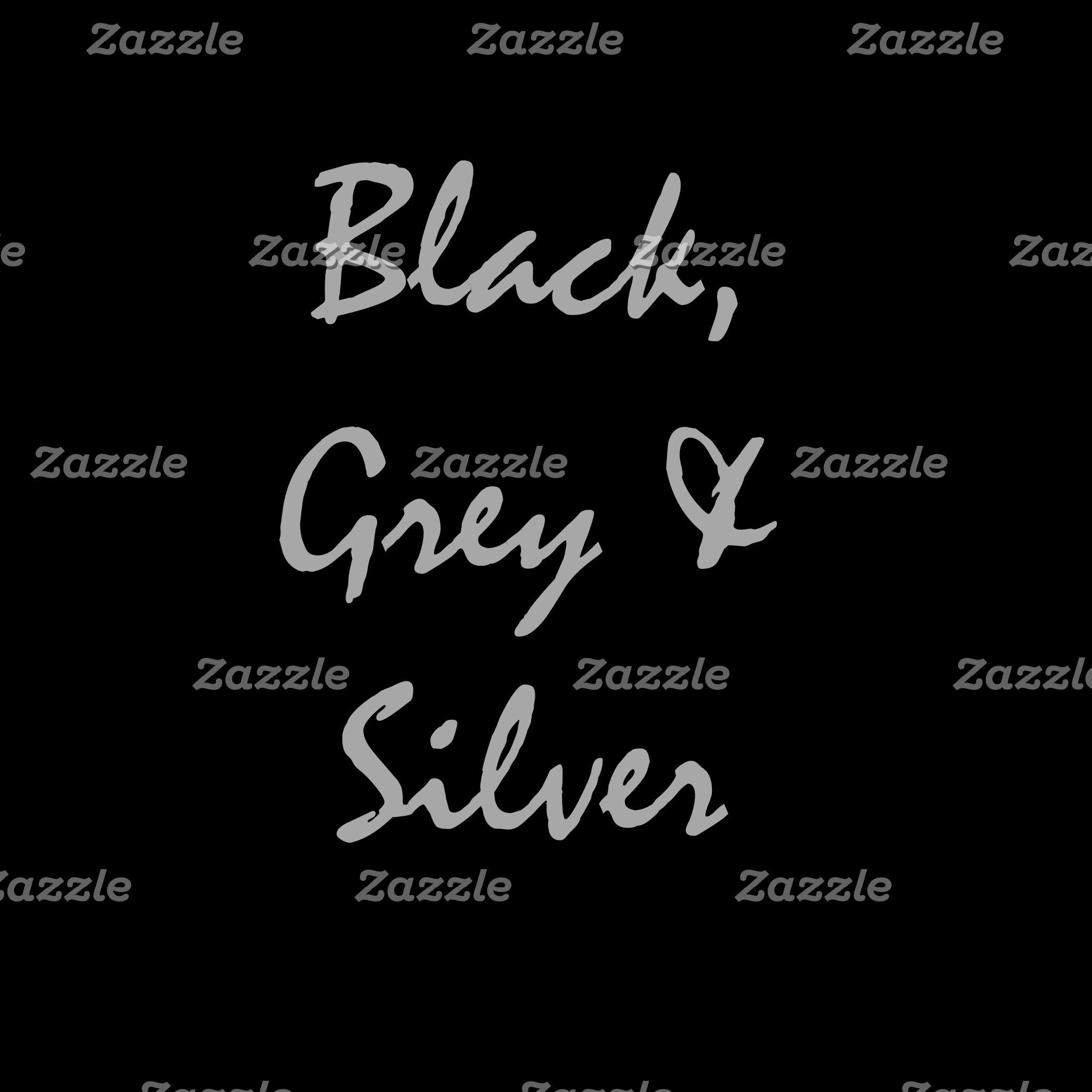 Black, Grey & Silver