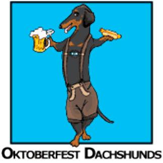 Oktoberfest Dachshunds