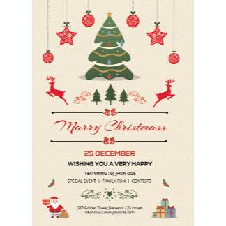 Christmas Invitation / Flyer